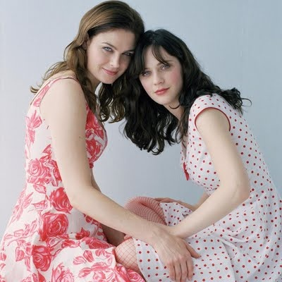 I feel like if my sister and I were famous sisters we would be like Emily and Zooey :)
