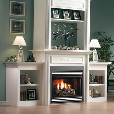 Kingsman Zero Clearance Vent Free Firebox Indoor Fireplaces Gas