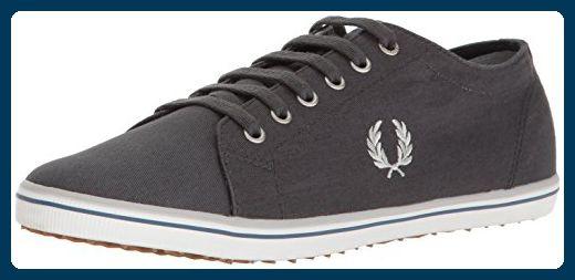 Fred Perry - Kingston Twill - Charcoal (Grau) - Sneaker (39) - Sneakers für frauen (*Partner-Link)
