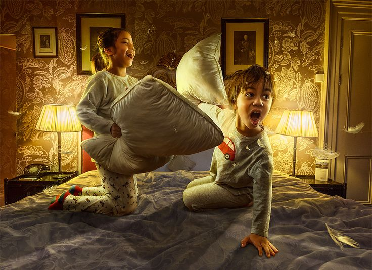 Pillow fight by Adrian Sommeling on 500px....check this out!