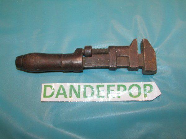 Vintage PSW Cleveland USA Adjustable wooden handle Wrench Tool #PSW #Cleveland #Tool #Wrench #dandeepop