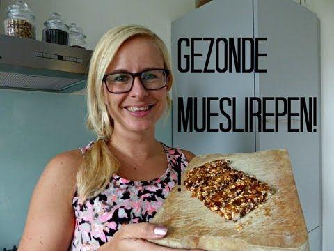 Recept: Gezonde Mueslirepen zonder oven!   Optima Vita