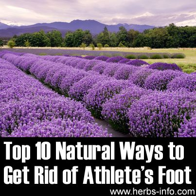 Top 10 Natural Ways to Get Rid of Athletes Foot