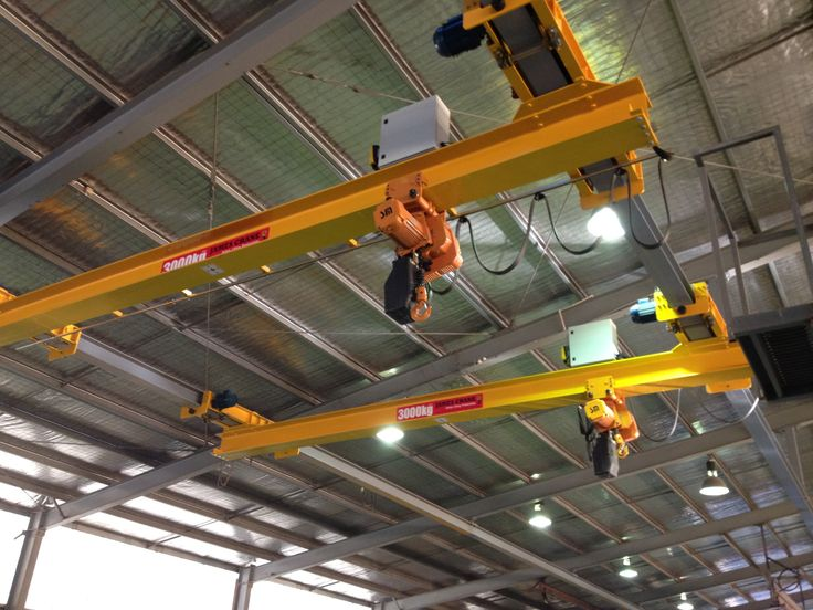 Monorail system Light overhead crane system by James Crane