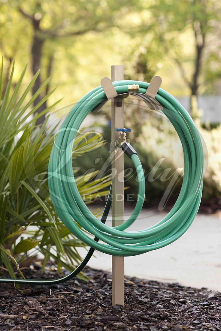 The #LibertyGarden Model 693 Combines Water Outlet With Brass And PVC  Connections And Fixed Hose
