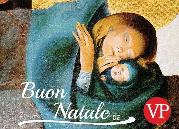 Buon Natale lettori con un quadro di un artista contemporaneo #Arcabas che ci piace tanto: tanti auguri! #Natale2014