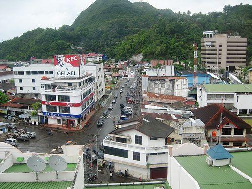 Lovely Jayapura, Papua province Indonesia