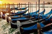 Venice - Italy. Sunset over Venice. Explore the city and experience the wonders of Venice for yourself!