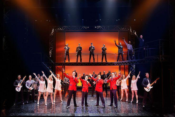 Jersey Boys, a multi-award-winning musical. More info here: https://www.fromtheboxoffice.com/city/2957-london/2B2T-jersey-boys/