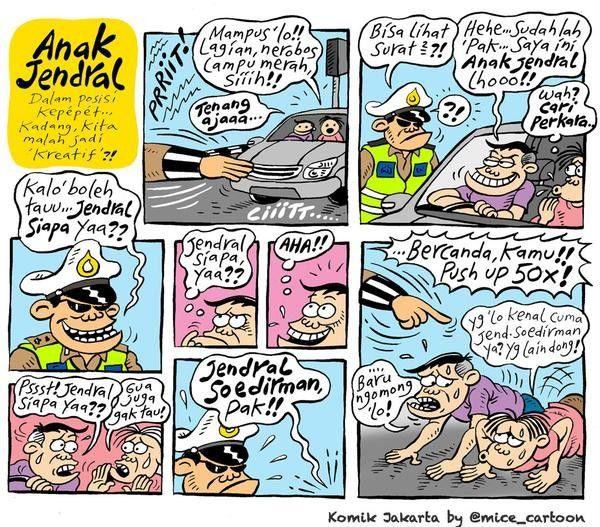 Mice Cartoon, Komik Jakarta - Januari 2015: Anak Jendral