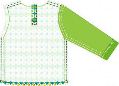 Free sewing tutorial and pattern toddler long sleeve T-shirt
