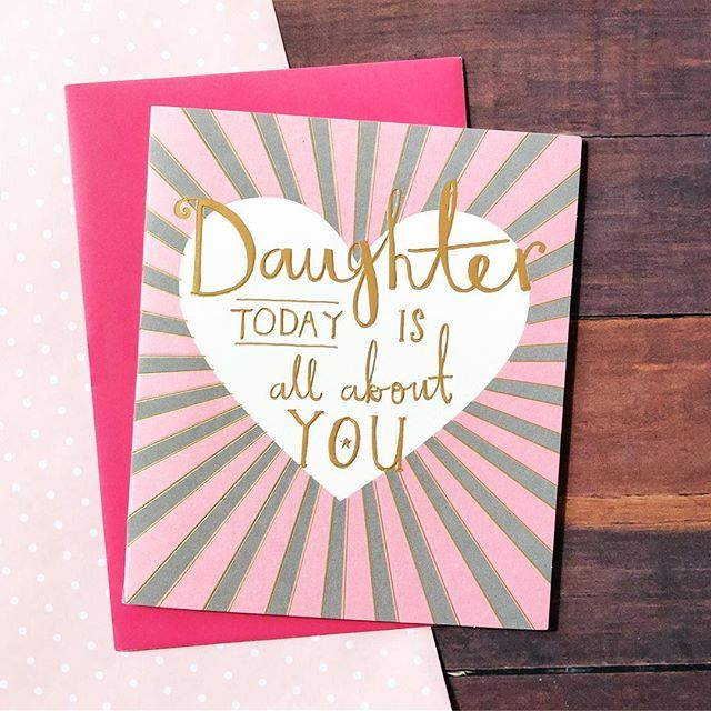 Daughter today is about you, tag yours and let them know