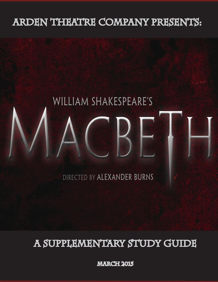 Arden Macbeth Study Guide