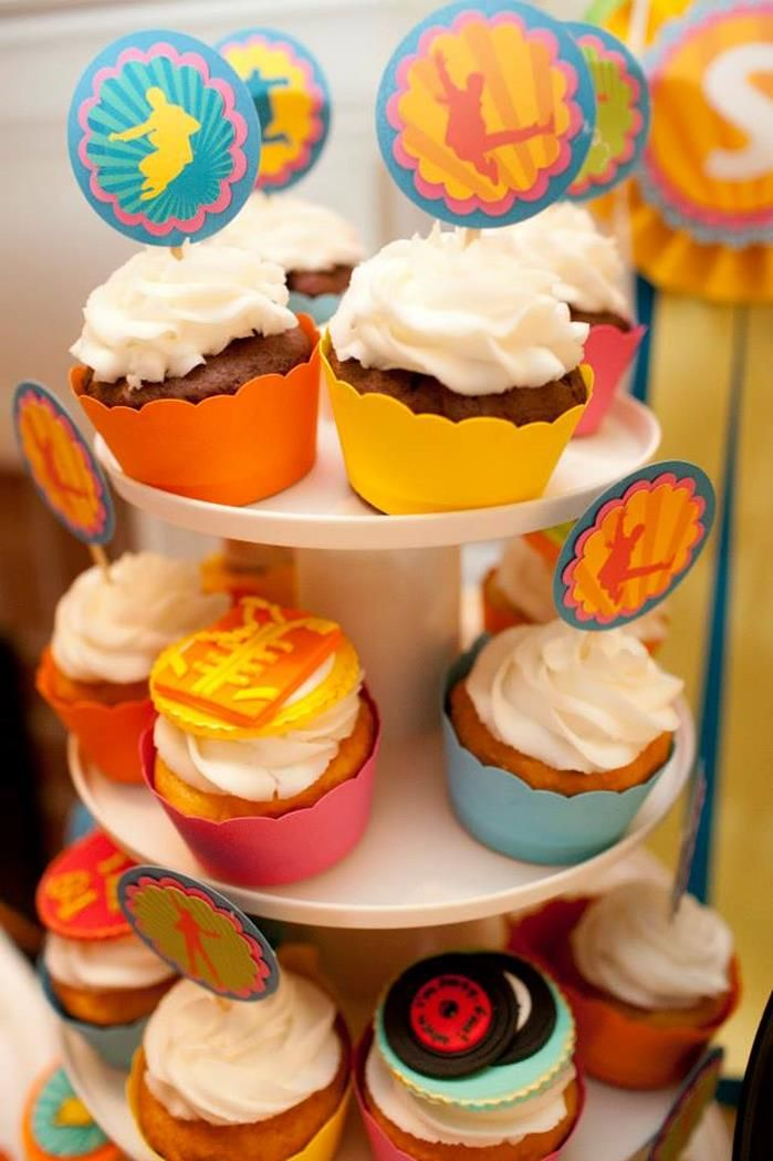 """Beetles """"When I'm 64"""" Birthday Party with So Many Really Cute Ideas via Kara's Party Ideas   KarasPartyIdeas.com #BeetlesParty #Party #Ideas..."""