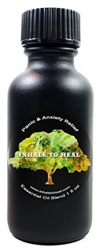 Inhale to Heal Natural Panic & Anxiety Relief Essential Oil Blend 1 Ounce