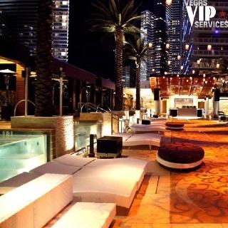 Patio At Marquee Nightclub Las Vegas