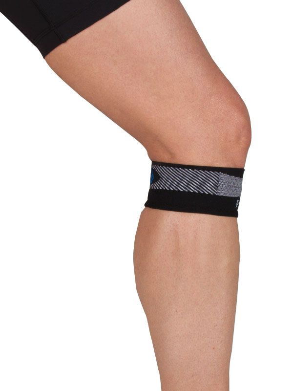 Are you experiencing discomfort from patellar tendinitis (jumper's knee)? If you have, you've probably experienced the uncomfortable and bulky patella straps, cortisone shots, or might have even tried surgery. Our PS3 Compression Patella Knee Sleeves can help you bypass all that. Our slim patella sleeve uses patent pending Compression Zone Technology® to bring you fast relief.