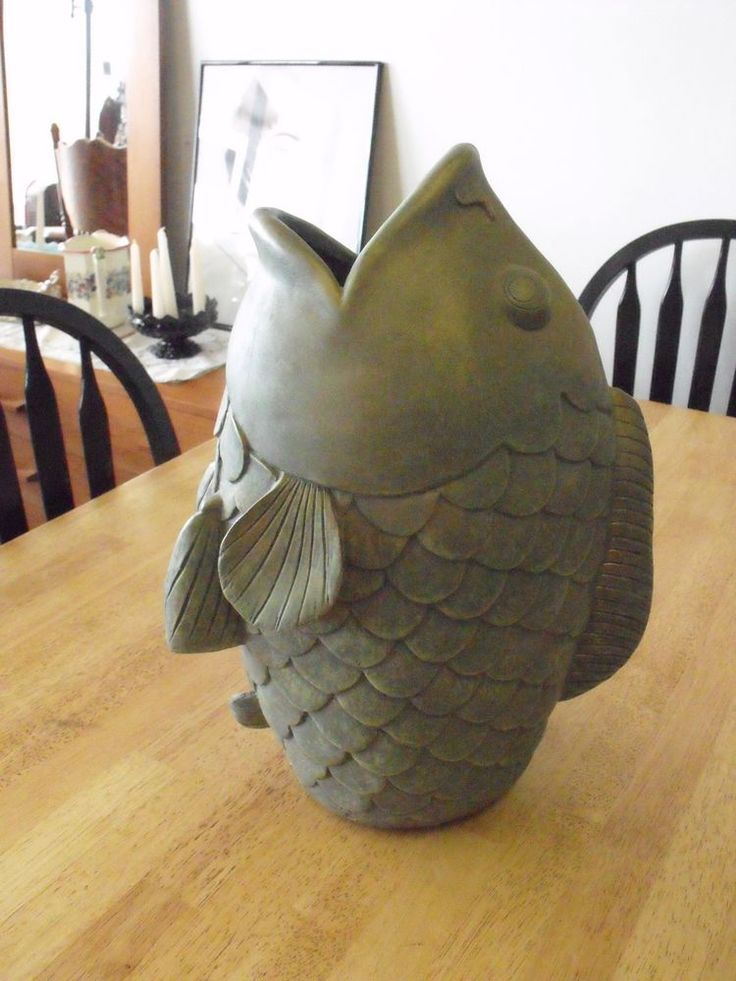 Pin By Linda Kraenzle On Clever Crafts Clay Fish