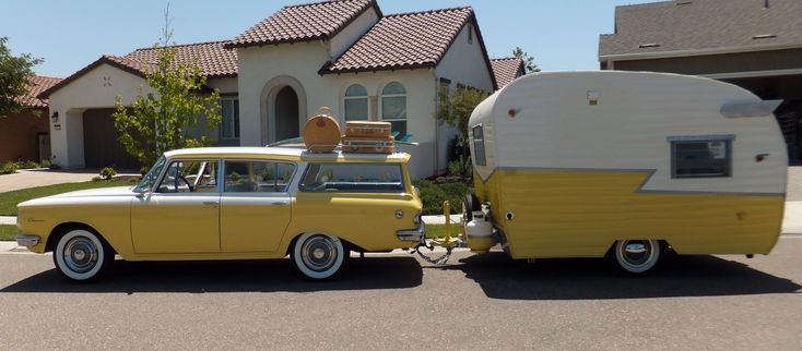 Our 1962 Rambler Wagon & Shasta Trailer