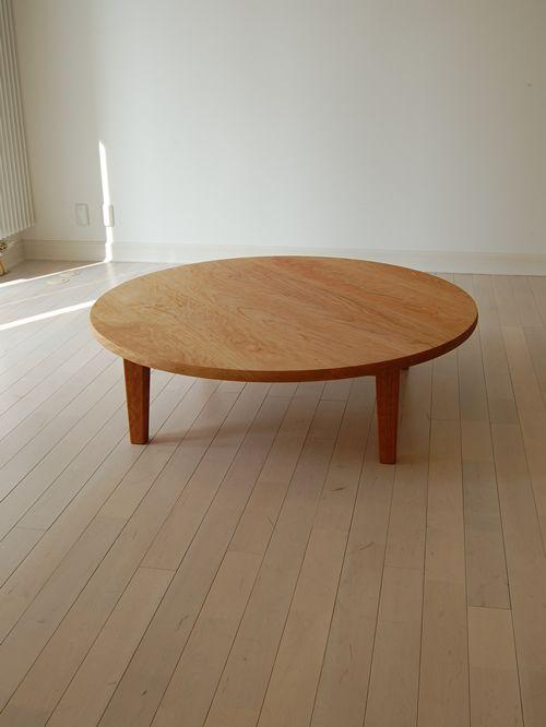 チェリー丸ローテーブル 直径120cm / カグオカ