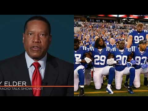 Larry Elder SLAMS caller in a HEATED EXCHANGE over NFL controversy - YouTube