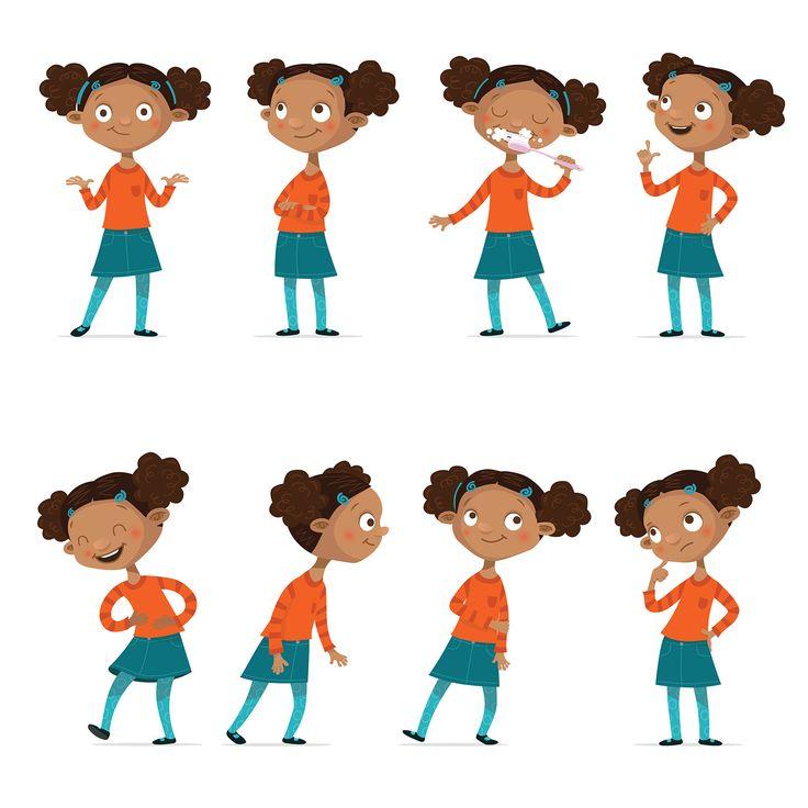 Character Study #blackkid, #school, #gestures, #conceptart