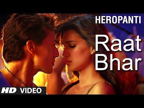 Raat Bhar song lyrics from Heropanti #tigershroff #kritisanon #songlyricstranslation #heropanti #arijitsingh #shreyaghoshal