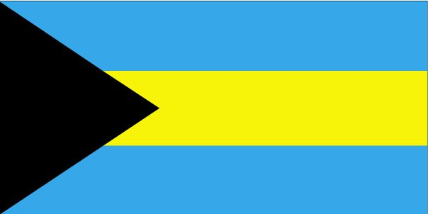 Country Flags: The Bahamas Flag