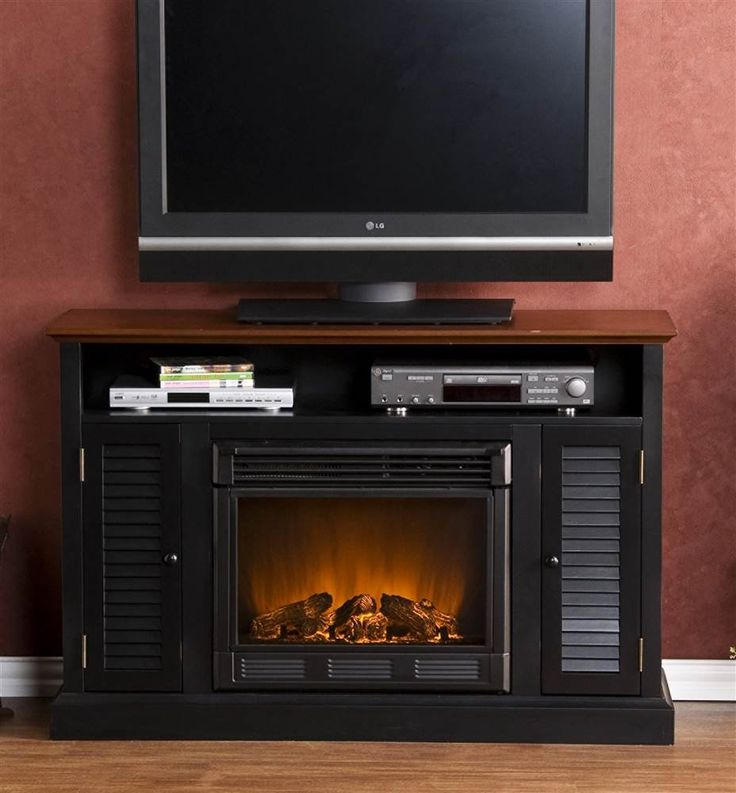 1000 Ideas About Electric Fireplace Media Center On