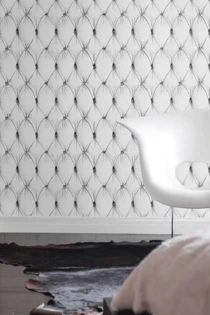 Chesterfield Button Back Wallpaper by Young