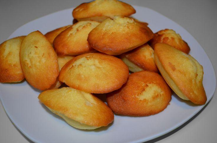 La madeleine de Cyril Lignac ! Une madeleine gourmande et croquante ?