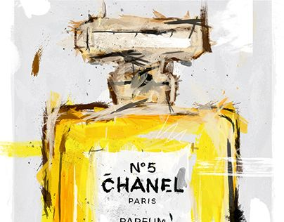 """Check out new work on my @Behance portfolio: """"Chanel No.5 Digital Painting"""" http://be.net/gallery/36467811/Chanel-No5-Digital-Painting"""