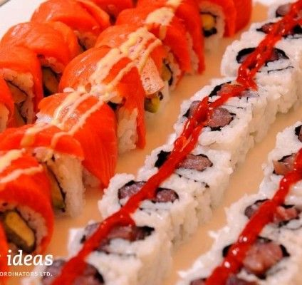 We all LOVE #sushis, it is always a good idea to include them in your menu for a #corporatevent.