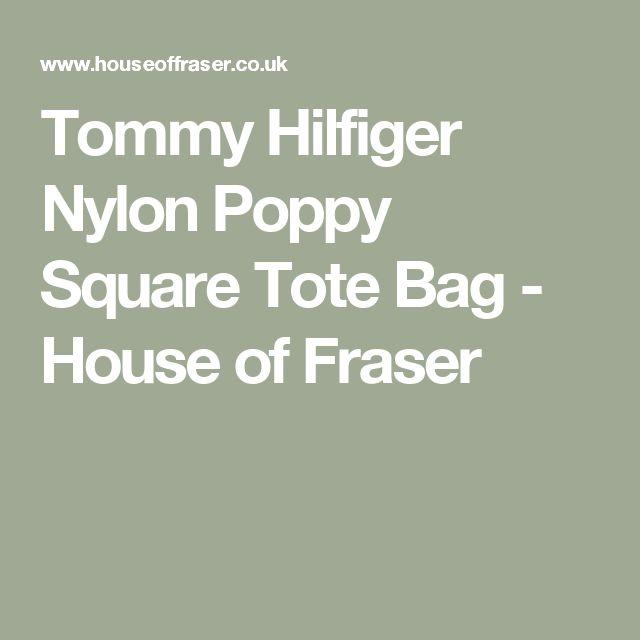 Tommy Hilfiger Nylon Poppy Square Tote Bag - House of Fraser