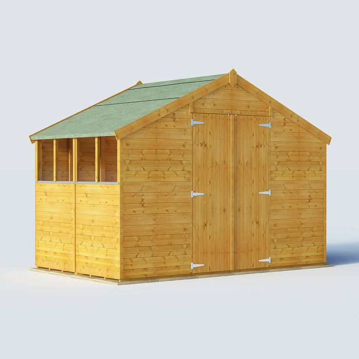 billyoh 6 x 10 windowed tongue and groove apex garden shed 4000 range