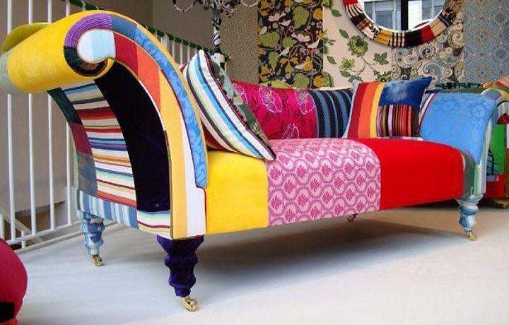 Sillon amplio cómodo y colorido