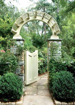 garden gate - Atlanta Homes & Lifestyles