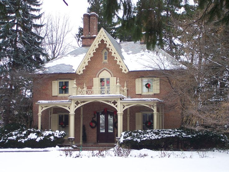 17 best images about u s gothic revival houses and for Gothic revival homes for sale
