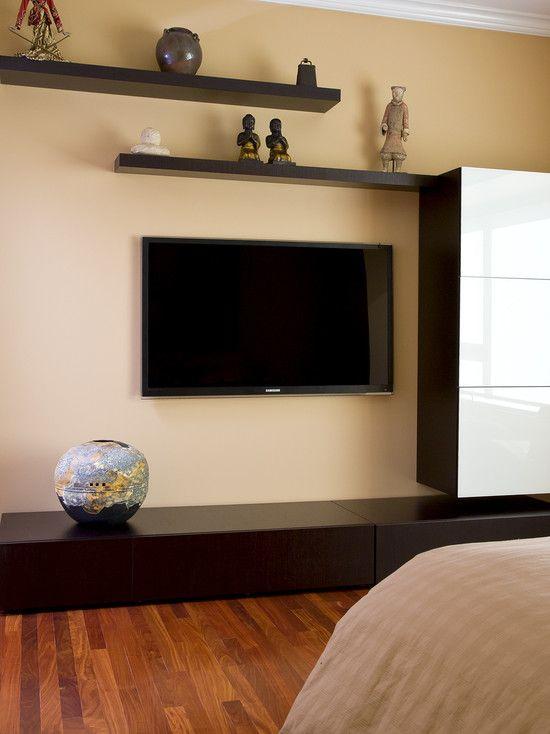 Floating Shelf With Tv (13 Image)