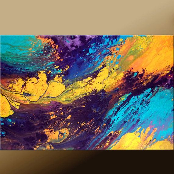 I really dislike Abstract art but i think this is cool. $99 on etsy
