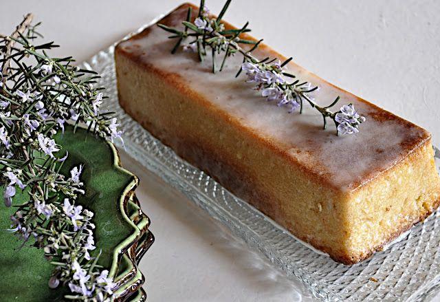 manon 21: Cake romarin citron