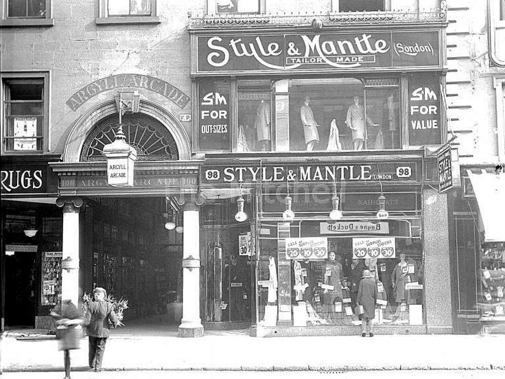 Argyle arcade entrance- now a Greggs!!!