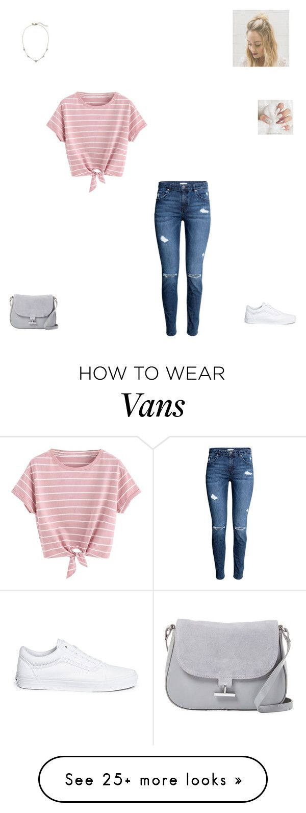 """""""Casual day #29"""" by synclairel on Polyvore featuring Vans, Lauren Conrad, Halston Heritage, Winter, cute, casual and ootd"""