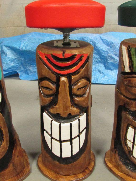 Best 25 Tiki Bar Stools Ideas On Pinterest Outdoor