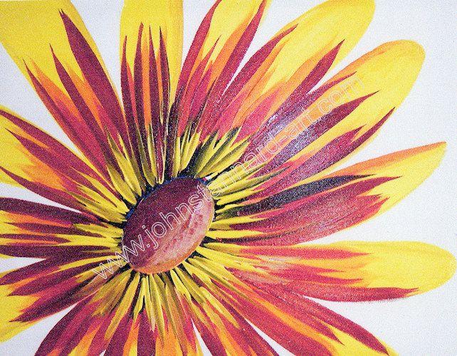 Single Flower Paintings Single Flower Flowers In 2019