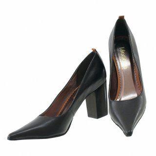 Scarpin de chocolate 3497   Moselle sapatos finos online! Mosela é mulher   – Roupas tamanhos grandes