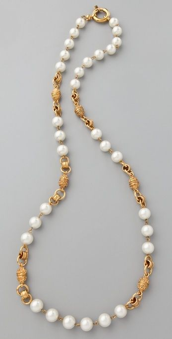 Shop for Vintage Chanel Pearl Necklace by WGACA at ShopStyle. Now for Sold Out.
