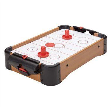 Retro Tabletop Mini Air Hockey Game