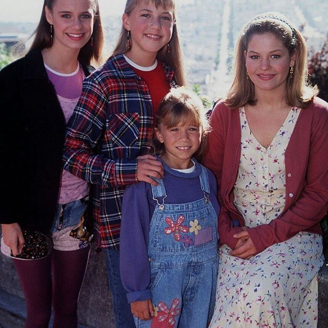 Full House - Kimmy, Stephanie, Michelle & DJ