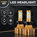 2PCS CREE H7 LED Headlight Kit Car Light Bulbs Truck 1080W 162000LM 6500K White